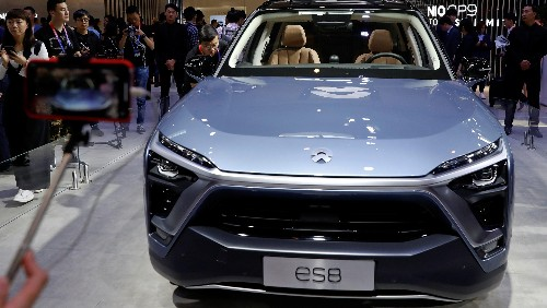 New York-listed NIO recalling ES8 SUV following fire incidents