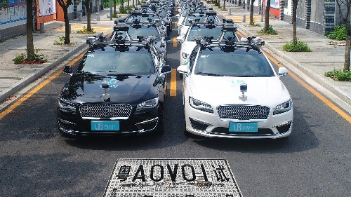 Taking self-driving car with WeRide in China's Guangzhou