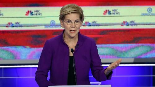 Democratic Debate: Biden and Warren almost tied for 2020 nomination
