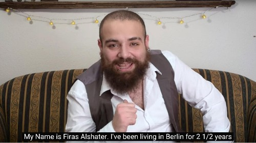 A Syrian refugee has become a YouTube star by explaining German culture to Germans