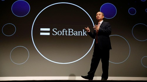 SoftBank led 25% of the UK's fintech investment last year