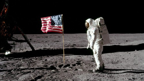 We may have misheard Neil Armstrong's famous moon landing quote