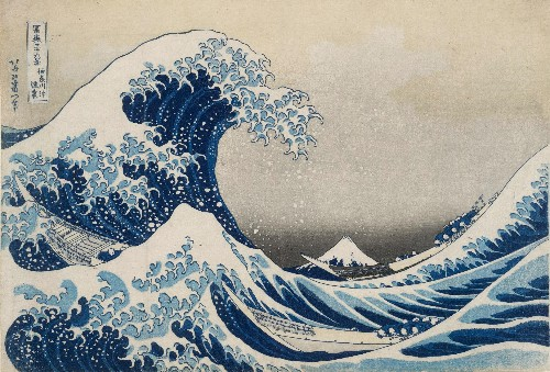Without Hokusai's Great Wave there would be no modern art