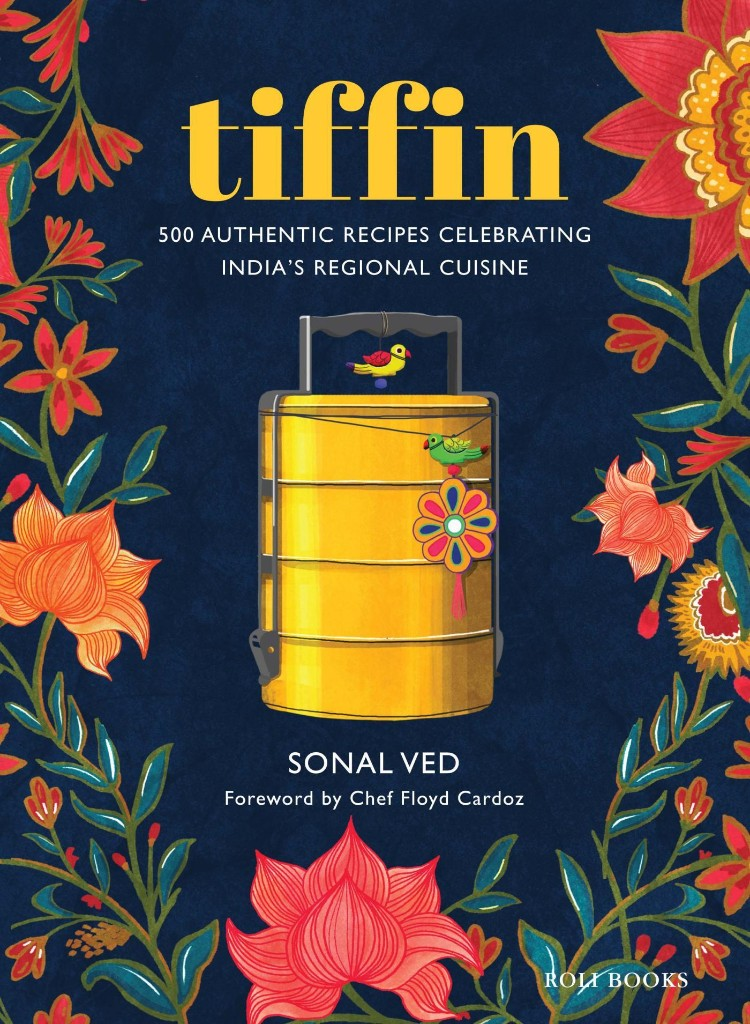 Tiffin Indian Cook Book - Magazine cover