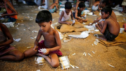 One in ten kids globally are child laborers—and that's considered good news