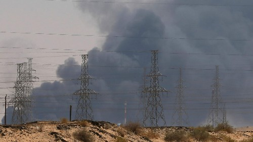 Drone attack could cost Saudi millions per day in lost oil output