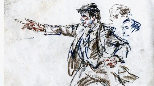 Supreme Court sketch artist illuminates courtroom camera debate