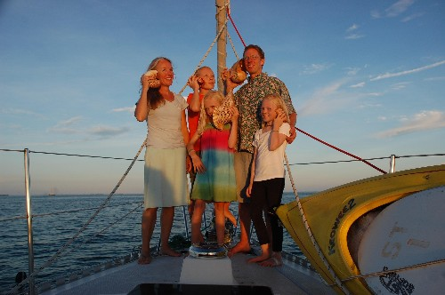 Sailing around the world for eight years with three kids taught us to live without structure