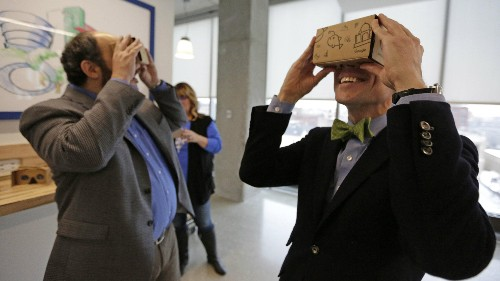 Doctors used Google Cardboard to perform heart surgery on a baby