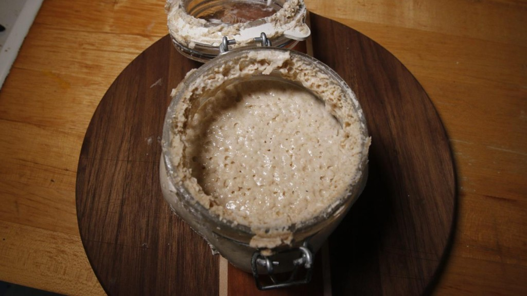 Want to bake bread but can't find yeast? Make a sourdough starter
