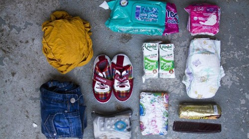 Photos: What Syrian refugees carry in their bags as they leave their lives behind