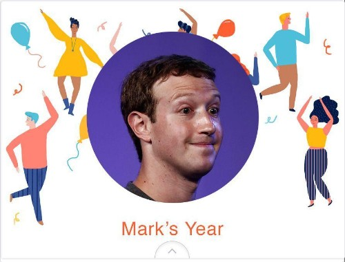 Facebook, here is your year in review!