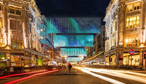 Christmas lights in London 2019: Oxford Street tries something new
