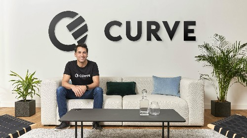 """Curve's CEO says we are """"very close"""" to peak fintech startup"""