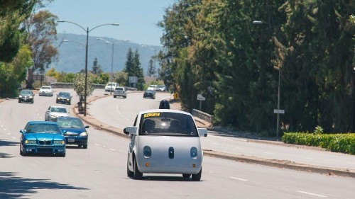Google's self-driving cars are now on the streets of California