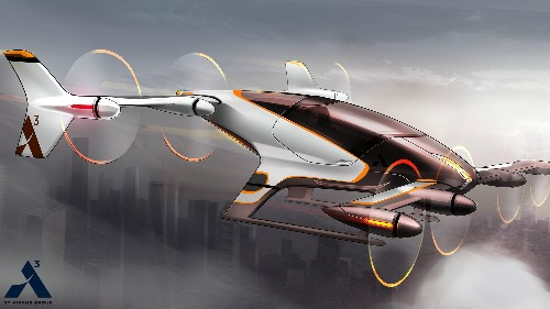 """Airbus is planning to test this self-flying """"air taxi"""" by the end of the year"""
