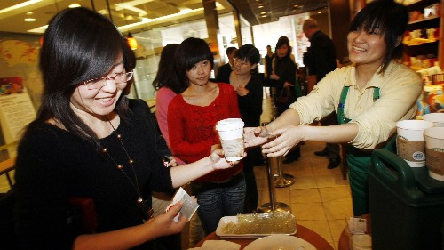 A Chinese coffee startup has Starbucks sweating