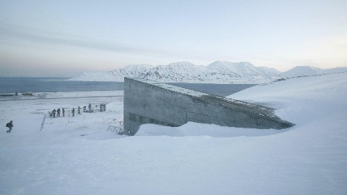The Syrian war is prompting the first-ever withdrawal from the doomsday seed vault