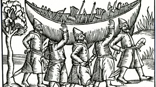 The Vikings were fearsome warriors because of this psychological trick
