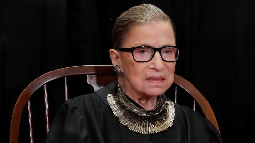 "Supreme Court justice Ruth Bader Ginsburg demonstrates the Zen principle ""beginner's mind"""