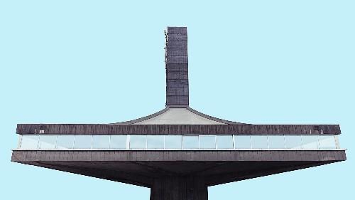Photos: These 1970s brutalist buildings in Serbia look like Star Wars spaceships