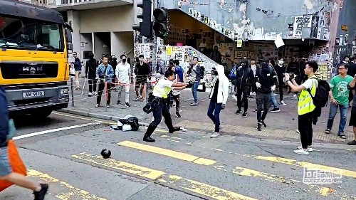 Hong Kong police shoot more protesters in a city still grieving a protest death