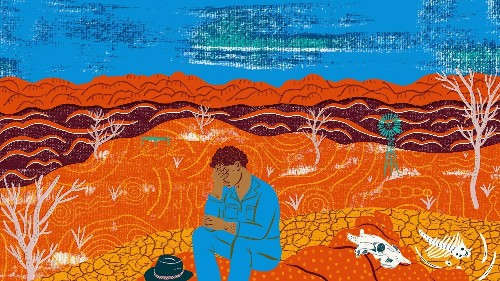 An Aboriginal approach to mental health is helping farmers deal with drought