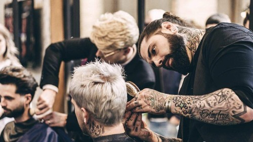 A group of British barber shops are trying to prevent male suicide