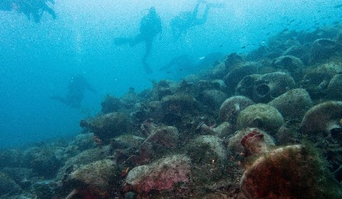 Ancient Greek shipwrecks open to recreational scuba divers
