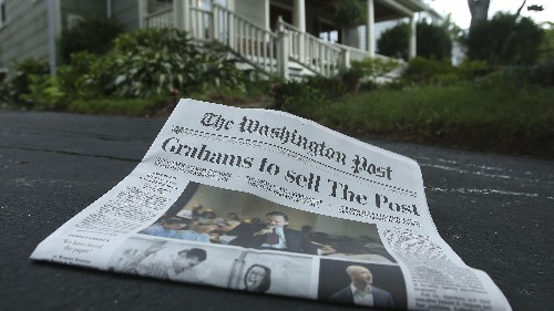 Jeff Bezos has finally articulated his strategy for the Washington Post
