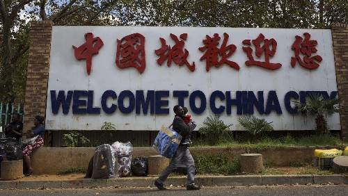 Chinese migrants have changed the face of South Africa. Now they're leaving.