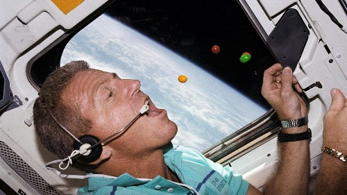 Photos: Six decades of eating in outer space