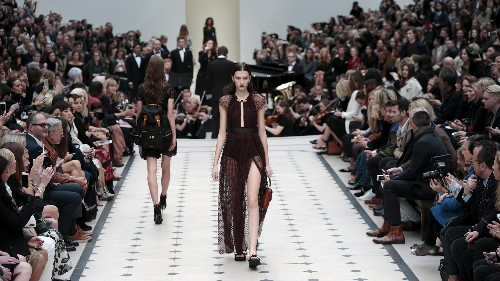 Burberry is radically upending the way fashion collections are shown and sold