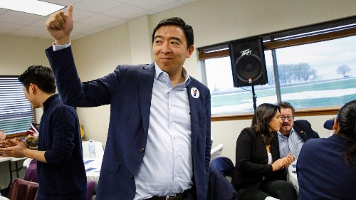 Andrew Yang is the Silicon Valley candidate stealing Trump's playbook