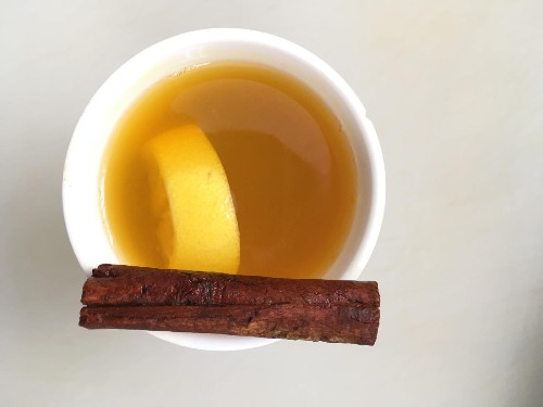 A turmeric hot toddy is a mellow mid-winter cocktail to sip and savor