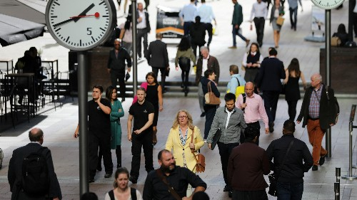 The UK's productivity problem is almost twice as bad as the rest of the G7