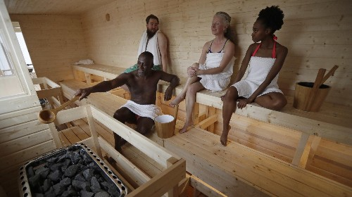We should all be taking saunas right now
