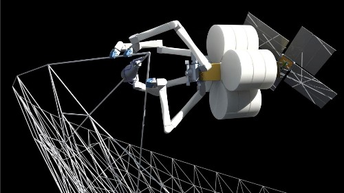 Robot spiders could build the next generation of objects in space