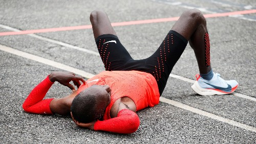 Even in Nike's specially rigged race, runners couldn't break the two-hour marathon mark