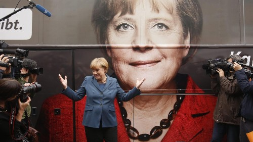 "In a nod to Angela Merkel's political genius, Germany votes ""yes"" to gay marriage"