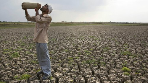 Global water scarcity could be our biggest conflict in the future