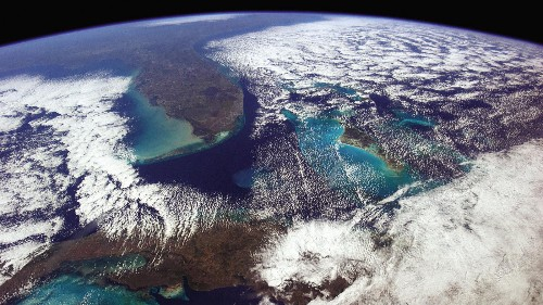 Astronaut Chris Hadfield took 45,000 photos from space—here are some of the best