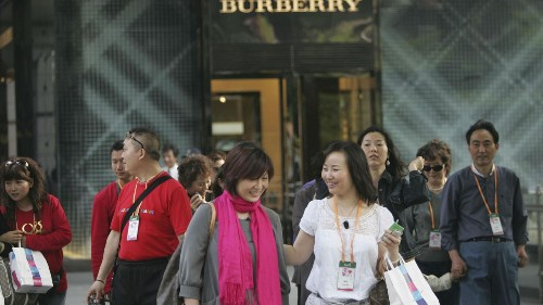 By 2015, Chinese tourists could spend more than all the world's luxury shoppers combined
