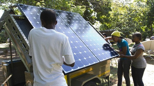 Nigeria is betting on solar power to reach a million homes without access to the grid