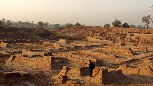 The Indus Valley civilisation is 2,500 years older than previously believed