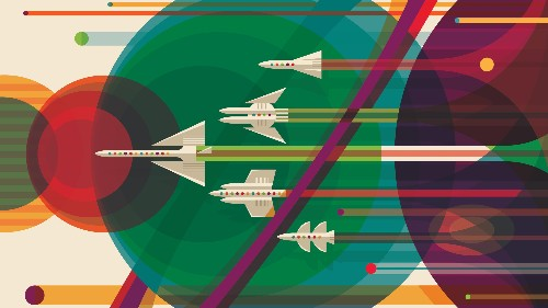 NASA's free posters in honor of Voyager's 40th anniversary