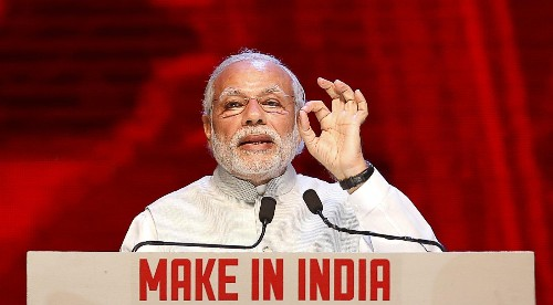 """India's growth has nothing to do with the """"good fortune"""" of falling oil prices: Narendra Modi"""