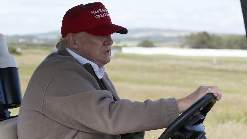Trump golf cart rentals have now cost US taxpayers $550,000