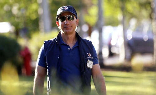 Amazon CEO Jeff Bezos sold nearly $3 billion of stock last week