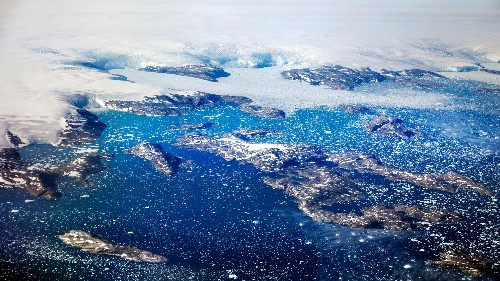 Greenland is melting even in winter and Canada's glaciers are terminally warm